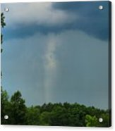 Rain Curtains Acrylic Print