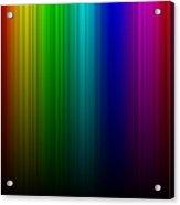 Rainbow Aurora Acrylic Print