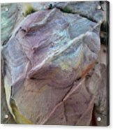 Rainbow Colored Sandstone In Valley Of Fire Acrylic Print