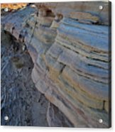 Rainbow Wave Of Sandstone In Valley Of Fire Acrylic Print