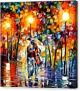 Rainy Evening Acrylic Print