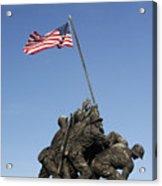 Raising The Flag On Iwo - 799 Acrylic Print