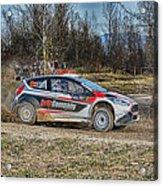 Rally Car Acrylic Print