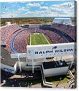 Ralph Wilson Stadium Acrylic Print