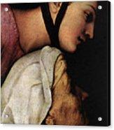 Raphael Madonna Dell Impannata  Acrylic Print