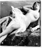 Reclining Nude, C1895 Acrylic Print