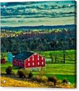 Red Barn - Pennsylvania Acrylic Print