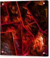 Red Chocolate Acrylic Print