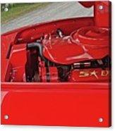Red Engine Acrylic Print