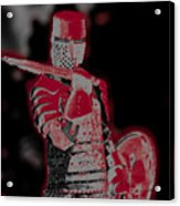 Red Knight Acrylic Print
