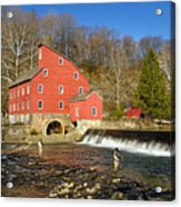 Red Mill Acrylic Print