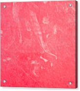Red Plastic Acrylic Print