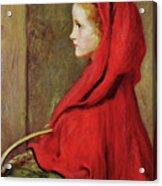 Red Riding Hood Acrylic Print