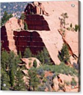 Red Rock Canyon Open Space Park Acrylic Print