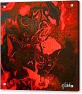 Red Series No. 2 Acrylic Print