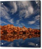 Redrock Reflections Acrylic Print