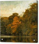 Reflecting October Acrylic Print
