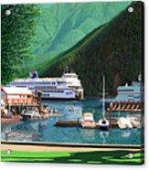 Reflection And Meditation Horseshoe Bay Acrylic Print