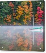 Reflection Of Fall Acrylic Print