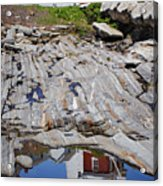 Reflections Of Pemaquid Acrylic Print