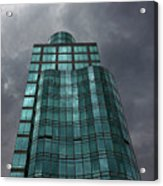 Reflective High Rise Building Acrylic Print