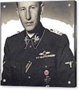 Reinhard Heydrich Circa 1940 Color Added 2016 Acrylic Print