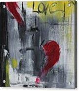 Remember Love Acrylic Print