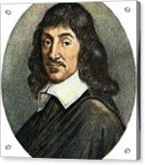 Rene Descartes, 1596-1650 Acrylic Print