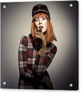 Retro Style Fashion Acrylic Print