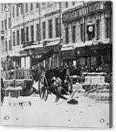 Revolution Of 1917 Acrylic Print