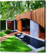 Rhs Chelsea Homebase Urban Retreat Garden Acrylic Print
