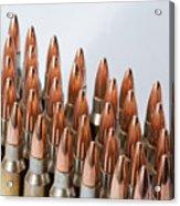 Rifle Ammuntion Acrylic Print