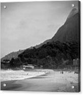 Rio De Janeiro Beach Acrylic Print