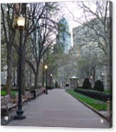 Rittenhouse Square In The Morning Acrylic Print