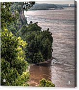 River Bluff View Acrylic Print