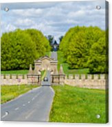 Road To Burghley House Acrylic Print