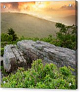 Roan Highlands - Flames And Flares  Acrylic Print