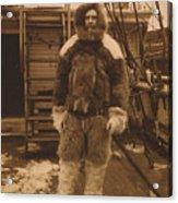 Robert Edwin Peary, American Explorer Acrylic Print