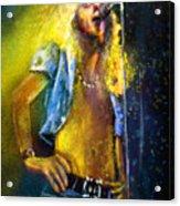 Robert Plant 01 Acrylic Print
