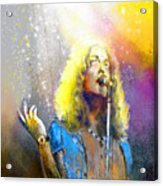 Robert Plant 02 Acrylic Print