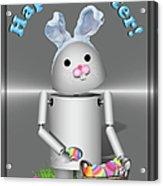Robo-x9 The Easter Bunny Acrylic Print