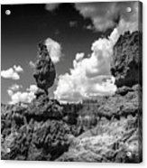 Rock Formations Of Bryce Canyon Acrylic Print