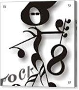 Rock 'n Roll Acrylic Print