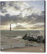 Rocking The Atlantic Acrylic Print