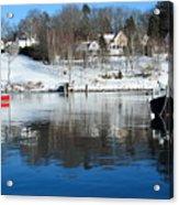 Rockport Winter Acrylic Print
