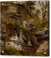 Rocky Cliff Acrylic Print