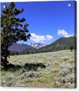 Rocky Mountain Foothills Acrylic Print