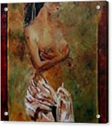 Roman Nude 67 Acrylic Print