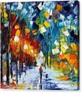 Romantic Winter Acrylic Print