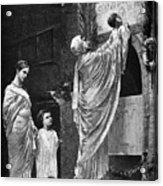 Rome: Christian Widow Acrylic Print by Granger